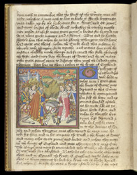 The Emperor of Sicily, the Sultan and King David Greet King Humphrey, in the 'Romance of the Three King's Sons'